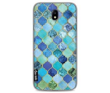 Aqua Moroccan Tiles - Samsung Galaxy J7 (2017)