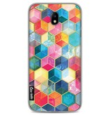 Casetastic Softcover Samsung Galaxy J7 (2017) - Bohemian Honeycomb