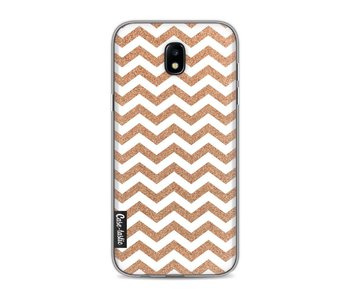 Copper Chevron - Samsung Galaxy J5 (2017)