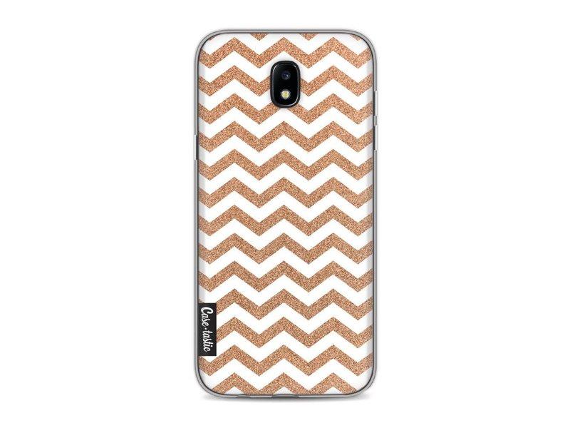 Casetastic Softcover Samsung Galaxy J5 (2017) - Copper Chevron