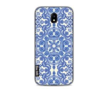 Blue White Folk Art - Samsung Galaxy J5 (2017)
