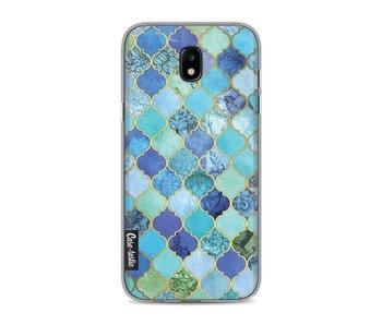 Aqua Moroccan Tiles - Samsung Galaxy J5 (2017)