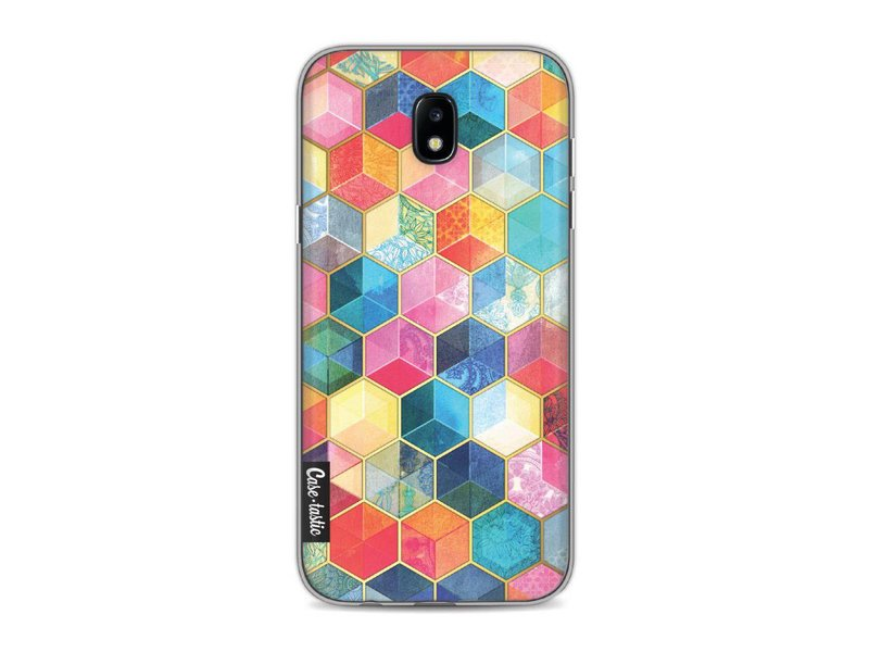 Casetastic Softcover Samsung Galaxy J5 (2017) - Bohemian Honeycomb