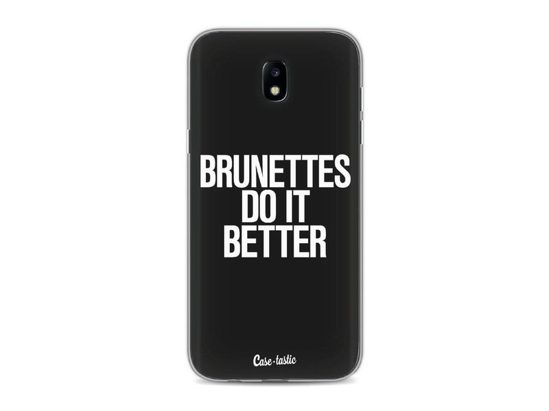 Casetastic Softcover Samsung Galaxy J5 (2017) - Brunettes Do It Better