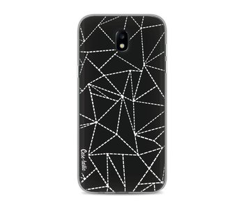Abstract Dotted Lines Black - Samsung Galaxy J5 (2017)