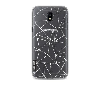 Abstract Dotted Lines Transparent - Samsung Galaxy J5 (2017)