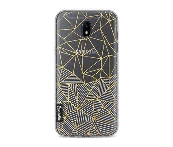 Abstraction Half Half Transparent - Samsung Galaxy J5 (2017)
