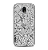 Casetastic Softcover Samsung Galaxy J5 (2017) - Abstraction Lines