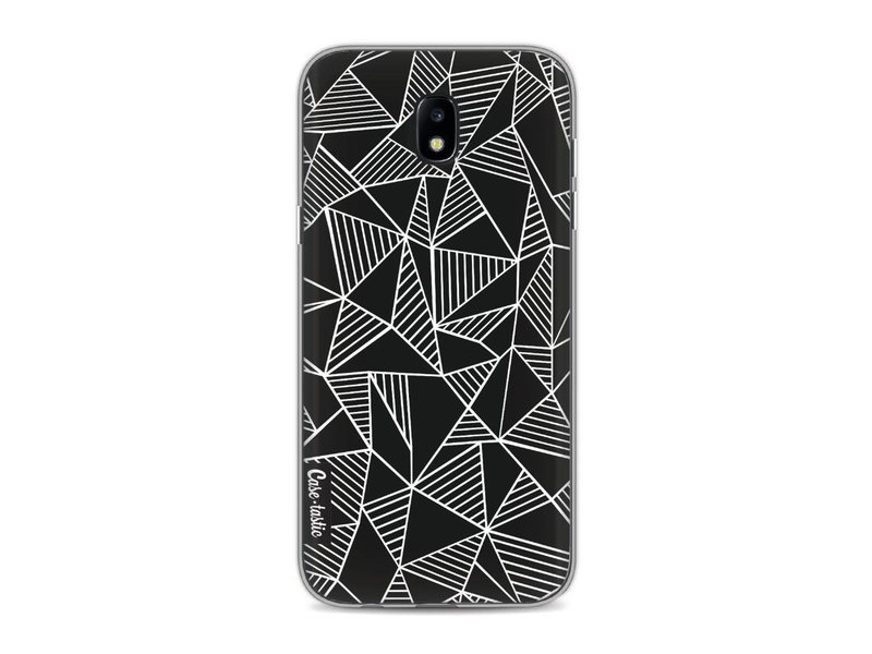 Casetastic Softcover Samsung Galaxy J5 (2017) - Abstraction Lines Black