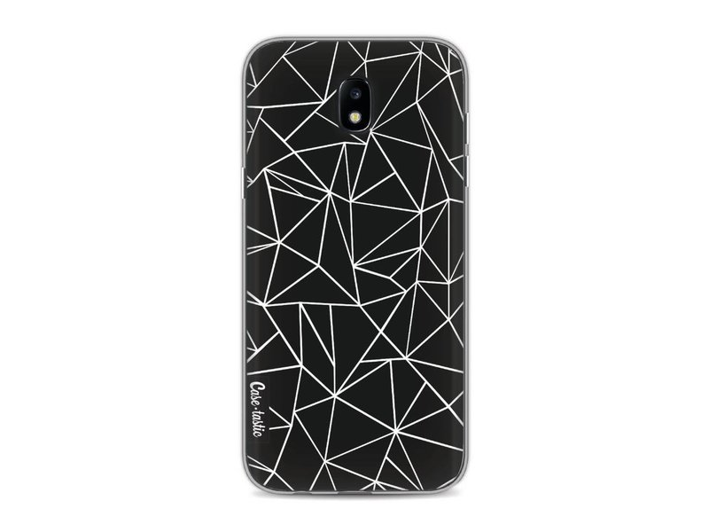 Casetastic Softcover Samsung Galaxy J5 (2017) - Abstraction Outline Black