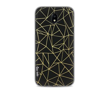 Abstraction Outline Gold - Samsung Galaxy J5 (2017)