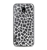 Casetastic Softcover Samsung Galaxy J5 (2017) - British Mosaic White Transparent