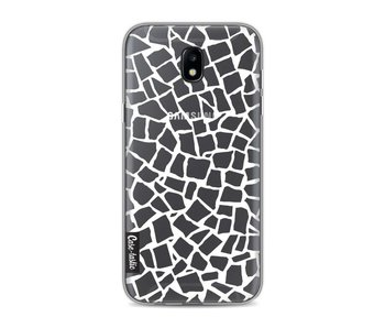 British Mosaic White Transparent - Samsung Galaxy J5 (2017)