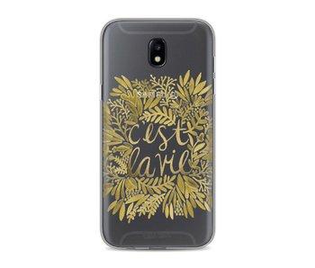 Cest La Vie Gold - Samsung Galaxy J5 (2017)