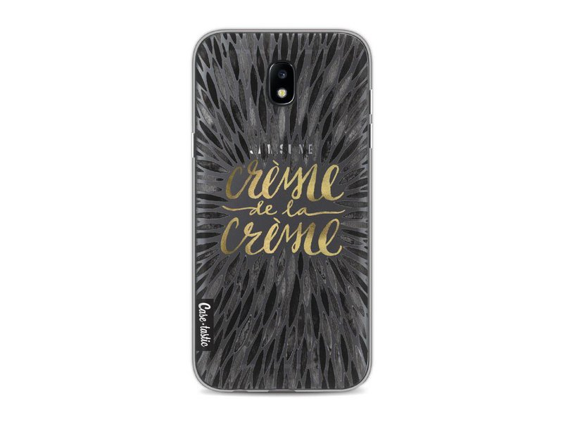 Casetastic Softcover Samsung Galaxy J5 (2017) - Creme de la Creme Black