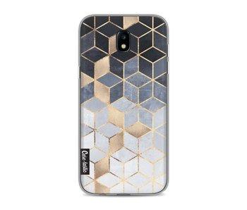 Soft Blue Gradient Cubes - Samsung Galaxy J5 (2017)