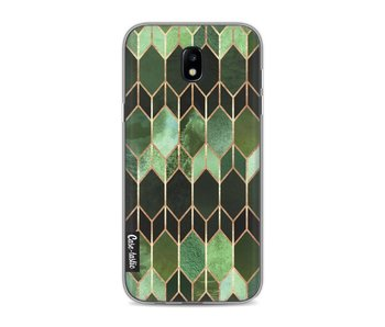 Stained Glass Green - Samsung Galaxy J5 (2017)