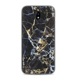 Casetastic Softcover Samsung Galaxy J5 (2017) - Black Gold Marble