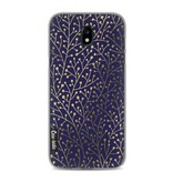 Casetastic Softcover Samsung Galaxy J5 (2017) - Berry Branches Navy Gold