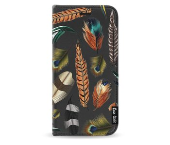 Feathers Multi - Wallet Case Black Samsung Galaxy J5 (2017)