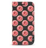 Casetastic Wallet Case Black Samsung Galaxy J5 (2017) - All The Donuts