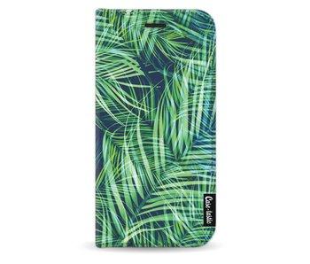 Palm Leaves - Wallet Case Black Samsung Galaxy J5 (2017)