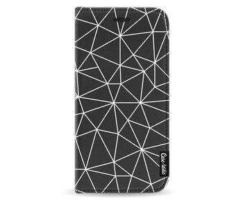 So Many Lines! White - Wallet Case Black Samsung Galaxy J5 (2017)