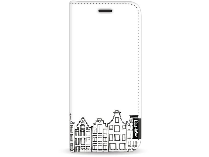 Casetastic Wallet Case White Samsung Galaxy J7 (2017) - Amsterdam Canal Houses