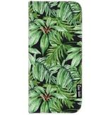 Casetastic Wallet Case Black Samsung Galaxy J7 (2017) - Transparent Leaves