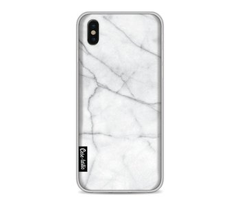 White Marble - Apple iPhone X