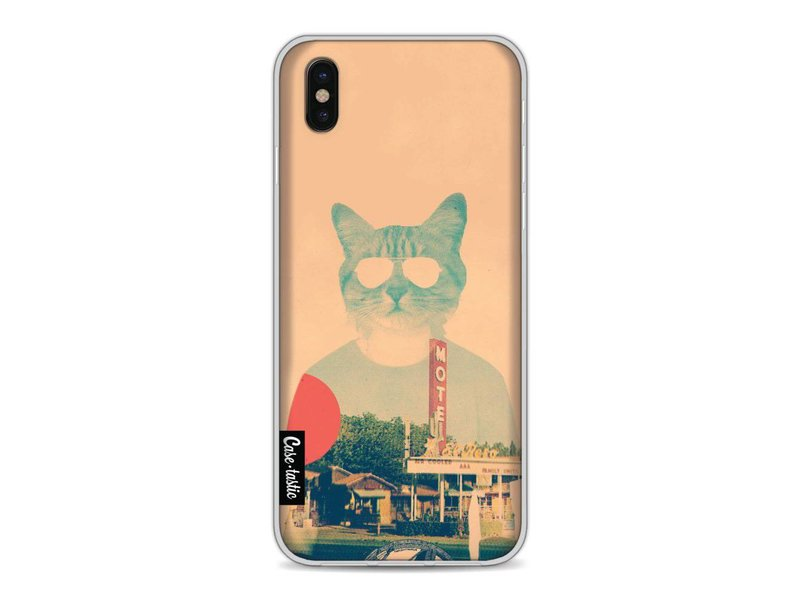 Casetastic Softcover Apple iPhone X - Cool Cat