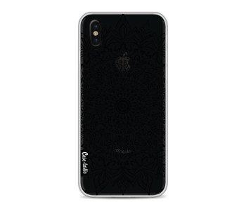 Black Mandala - Apple iPhone X