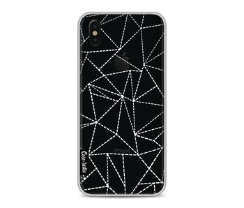 Abstract Dotted Lines Transparent - Apple iPhone X