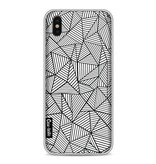 Casetastic Softcover Apple iPhone X - Abstraction Lines