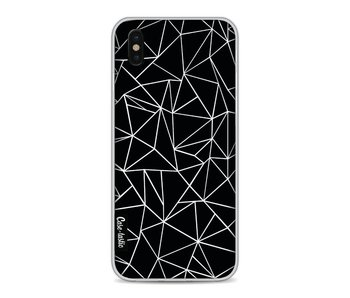Abstraction Outline Black - Apple iPhone X