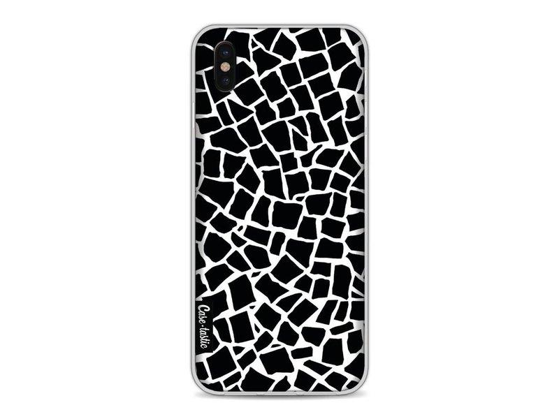 Casetastic Softcover Apple iPhone X - British Mosaic Black