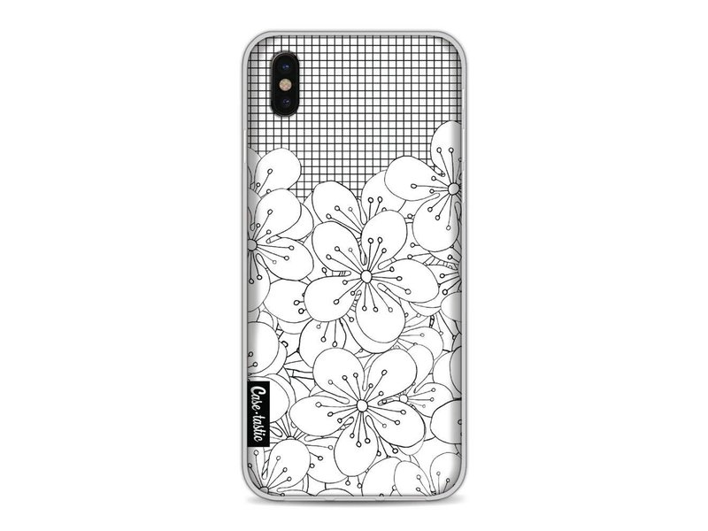 Casetastic Softcover Apple iPhone X - Cherry Blossom Grid