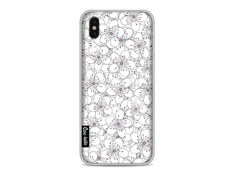 Casetastic Softcover Apple iPhone X - Cherry Blossom Pink