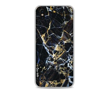 Black Gold Marble - Apple iPhone X