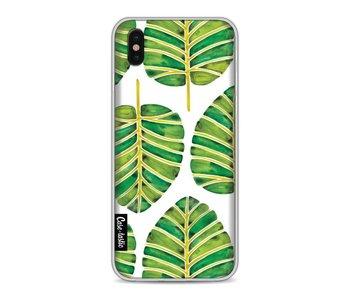 Green Alocasia Pattern - Apple iPhone X