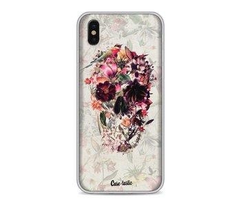 Flower Skull - Apple iPhone X