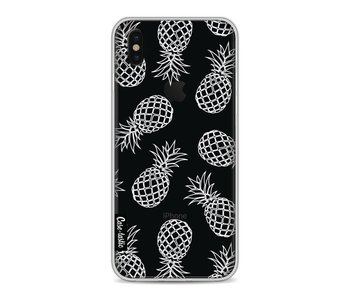 Pineapples Outline - Apple iPhone X