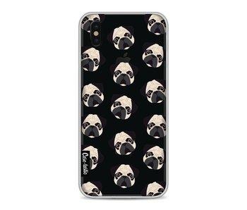 Pug Trouble - Apple iPhone X