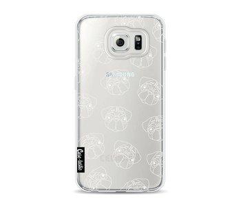 Pug Outline - Samsung Galaxy S6