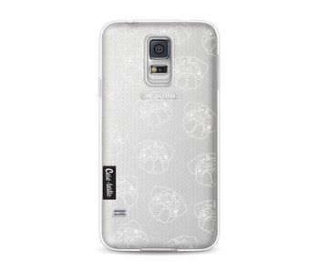 Pug Outline - Samsung Galaxy S5