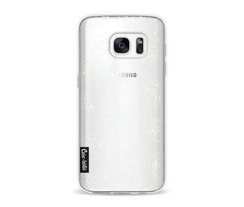 Pug Outline - Samsung Galaxy S7