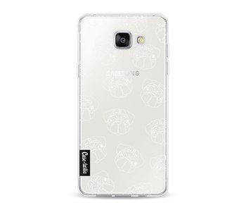 Pug Outline - Samsung Galaxy A5 (2016)