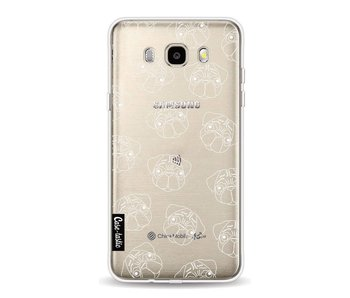 Pug Outline - Samsung Galaxy J5 (2016)