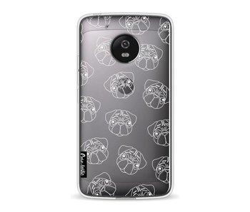 Pug Outline - Motorola Moto G5