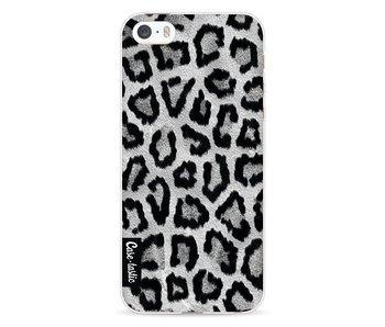 Grey Leopard - Apple iPhone 5 / 5s / SE